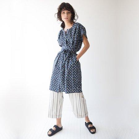 Caron Callahan Thadie Dress - Navy Cowry