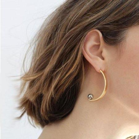 Jenny Bird Vela Earrings - Gold