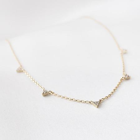 Thatch Andi Necklace - Gold