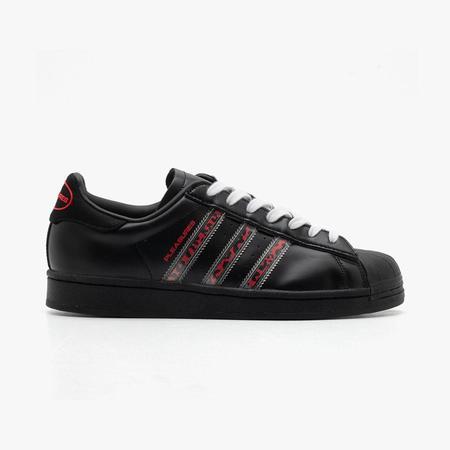adidas Consortium x Pleasures Superstar - Core Black
