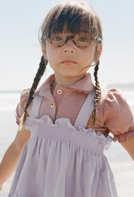 Kids Noble Organic Fia Dress - Lavender