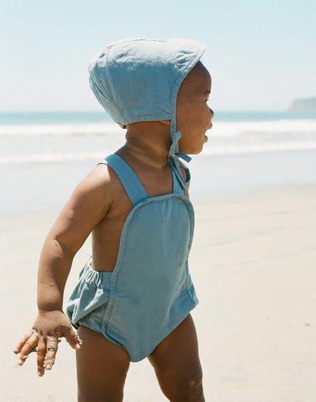kids Noble Organic Sun Suit - Blue Moon