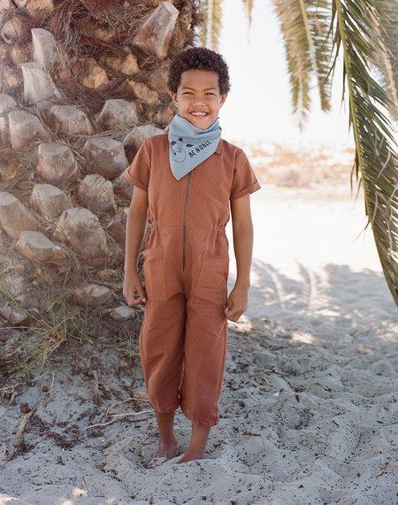 Kids Noble Organic Utility Suit - Cinnamon