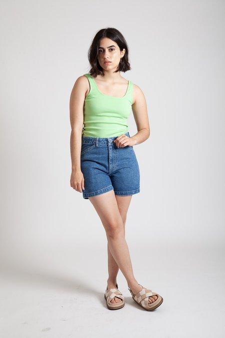 Gravel & Gold Painter Shorts - Yuba Wash