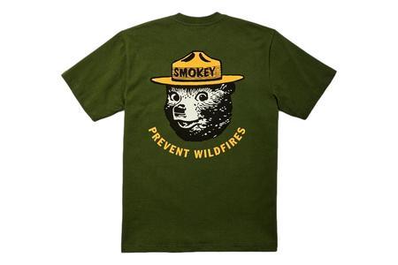 Filson Smokey Bear Pioneer Graphic Tee - Timber Black/Gold