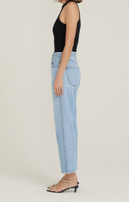 AGOLDE 90's Crop Mid Rise Straight Jeans - Replica