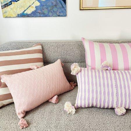 Archive New York Santiago Cabana Stripe Pillow - Tan