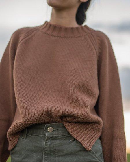 Daēza Raglan Sweater - Clay