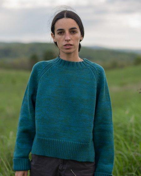 Daēza Raglan Sweater - Mermaid