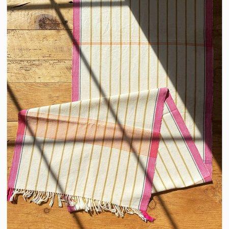Soil to Studio Nirmala Organic Handwoven Table Runner