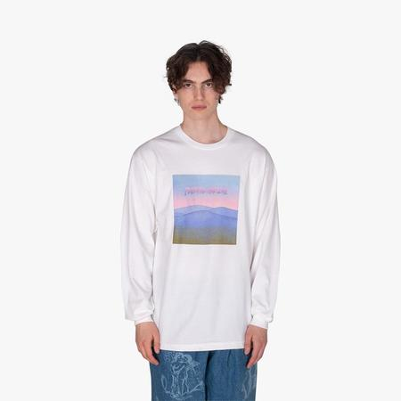 supra distribution Fucking Awesome Album Long Sleeve T-shirt - White