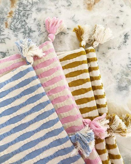 Archive New York Antigua Pillow - Ochre Striped