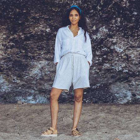 Nico Nico Woman Linh Sweatshorts - Cream