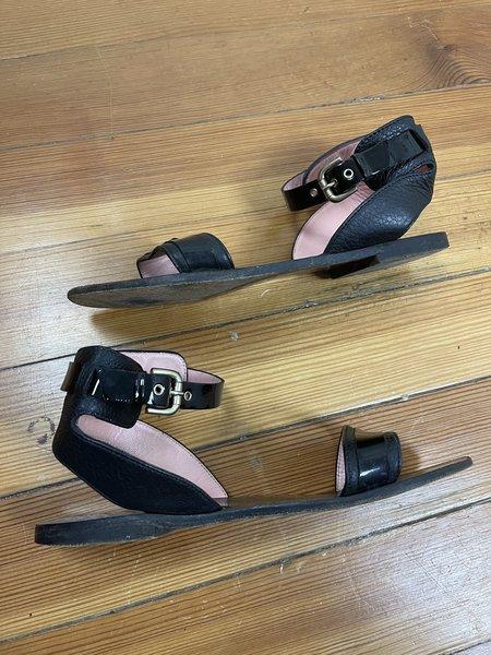 Pre-loved Studio Pollini Sandals - Black