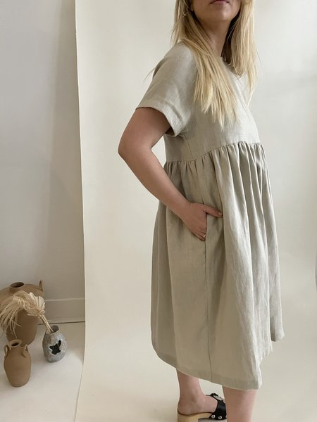 Beaton River Dress - Bone