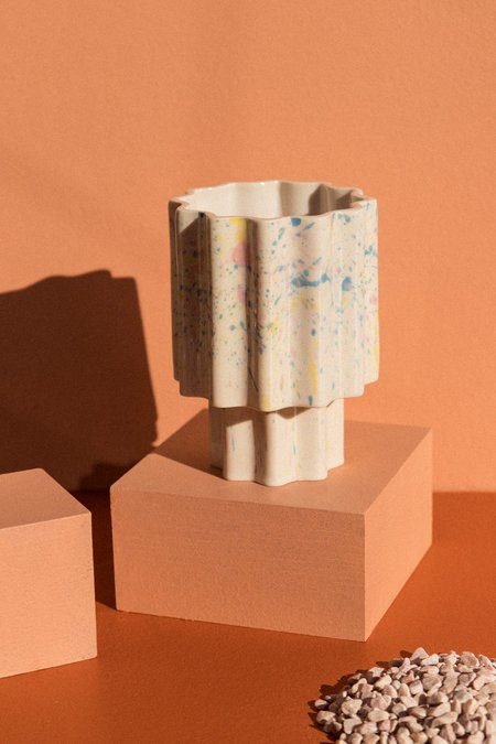 Ella Reweti Funfetti Planet Tapered Vase