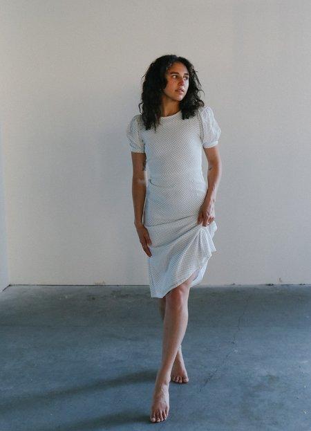 Faithfull Samirah Midi Dress - WHITE