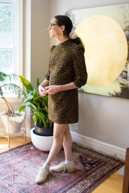 Eve Gravel Cold Mountain Dress