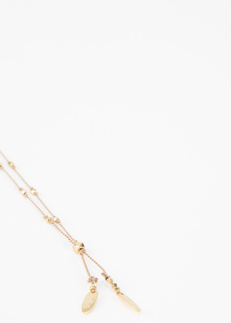 5 Octobre Shift Small Feather Necklace