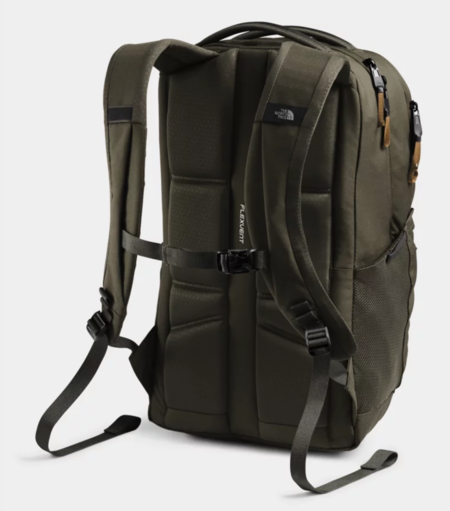 The North Face Jester Backpack - New Taupe Green/Utility Brown