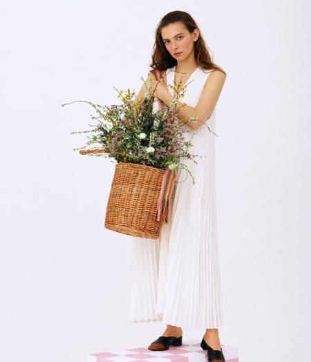 Gunia project Medium Wicker Basket