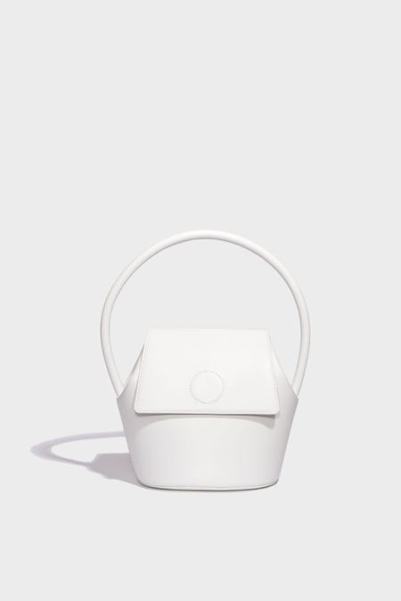 Modern Weaving Arch Top Handle Bucket - Optic