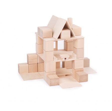 kids Just Blocks Natural Wood Building Blocks