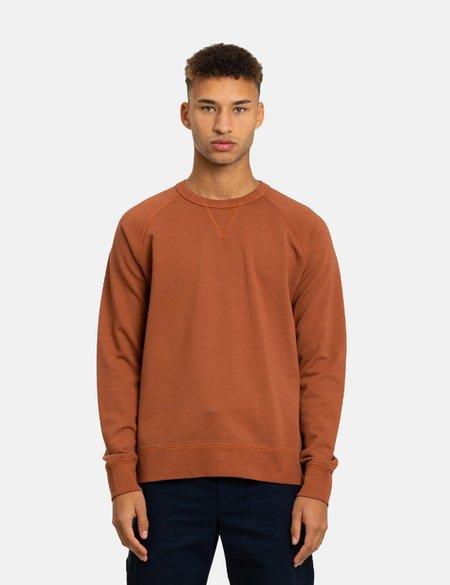 Norse Projects Kristian Sportswear GMD Sweatshirt - Burnt Ocher