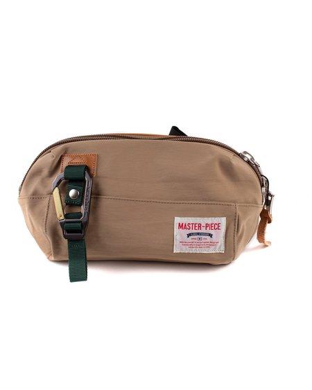 MASTER-PIECE Link Waist Bag - Beige