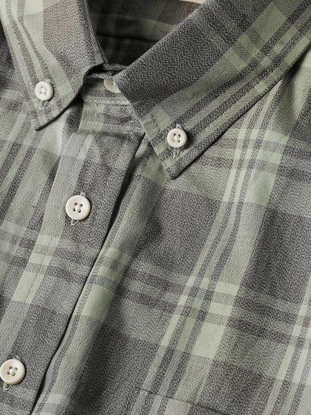 Taylor Stitch The Jack Shirt - Moss Plaid