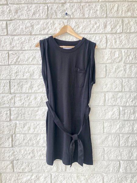 Citizens of Humanity JORDANA ROLLED SLEEVE DRESS - black