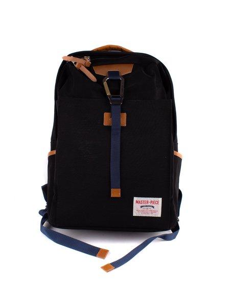 MASTER-PIECE Link Zip Top Backpack - Black