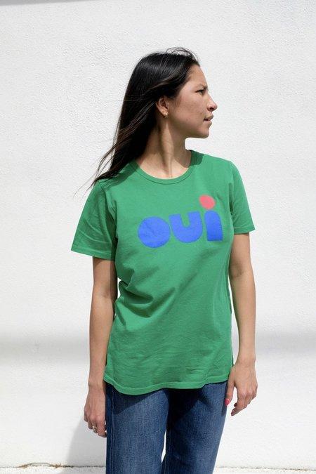 Clare V. Original Oui Tee - Green