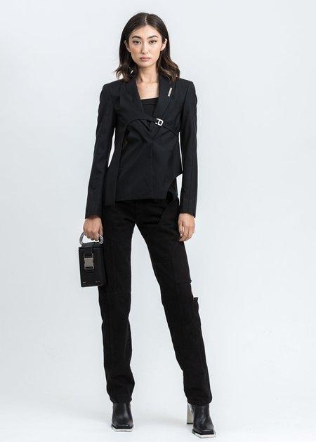 Heliot Emil Tailored Harness Blazer - Black