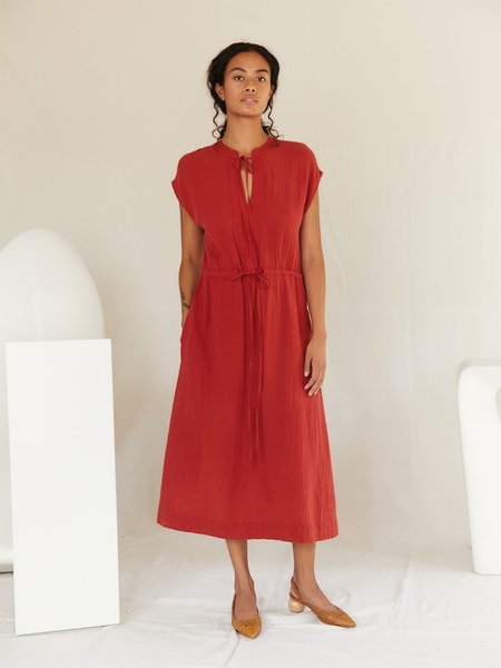 Sugar Candy Mountain The Abella Dress - Red