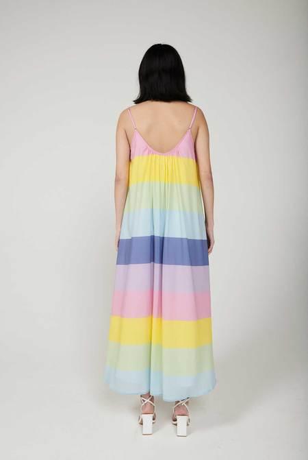 Olivia Rubin Aurora Stripe Dress - Multi