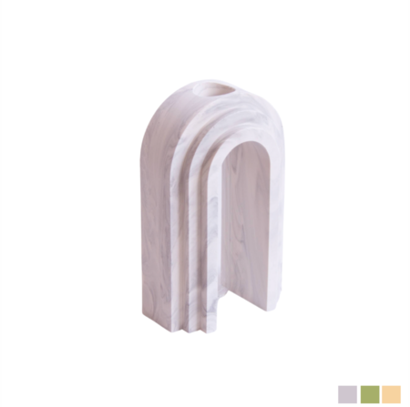 Extra and Ordinary Design Scala Marble Arch Vase
