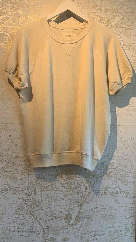 The Great. The Short Sleeve Puff Sweatshirt