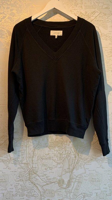 The Great. The V-neck Sweatshirt