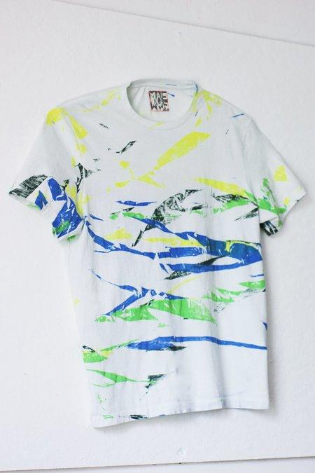 Unisex Mae Mae Terrazzo Tiger Print T-Shirt