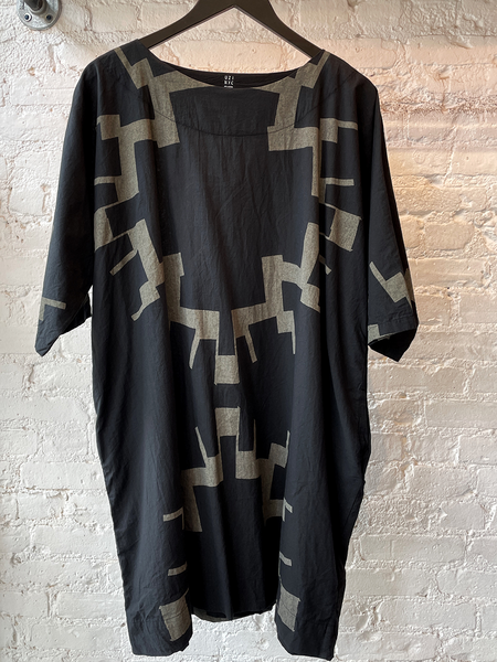 Uzi NYC Now Dress - Black Sun