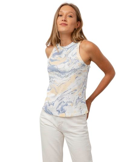 Rails The Racer Tank - Blue Marble