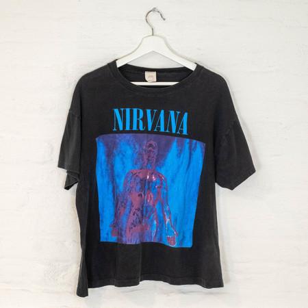 Vintage '91 nirvana TEE - BLACK