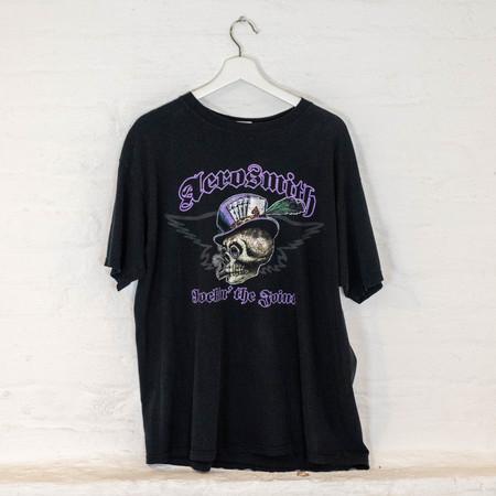 Vintage Aerosmith '05 TEE - BLACK