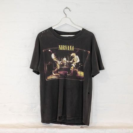 Vintage Nirvana '96 TEE - BLACK