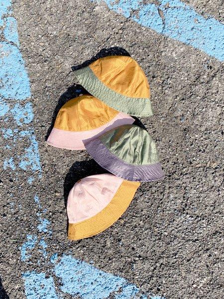 Colorant Two Tone Silk Slub Sunhat