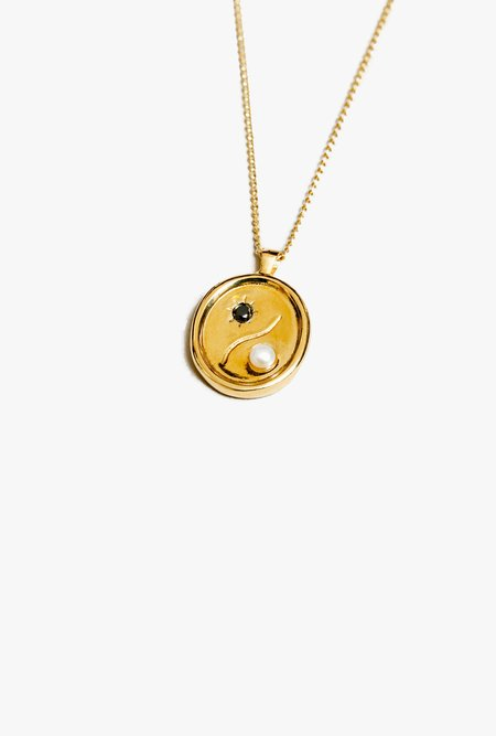 Wolf Circus Astra Necklace - 14k gold plated bronze