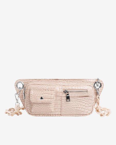 HVISK Brillay Croco Bag - Sand Beige