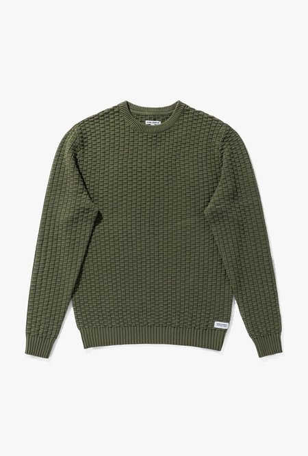 Banks Journal Chamber Knitwear - Olive Military