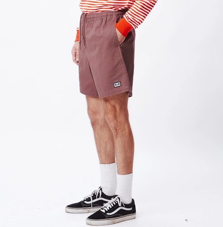 Obey Easy Relaxed Twill Short - Gray Grape